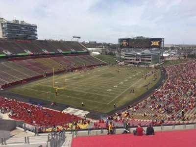 Jack Trice Stadium, section: P, row: 20, seat: 1