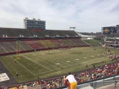 Jack Trice Stadium, section: S, row: 8, seat: 8