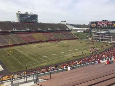 Jack Trice Stadium, section: S, row: 20, seat: 12