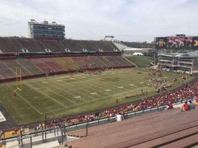 Jack Trice Stadium, section: S, row: 20, seat: 12