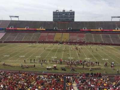 Jack Trice Stadium, section: W, row: 3, seat: 34