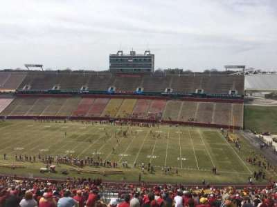 Jack Trice Stadium, section: Y, row: 28, seat: 4