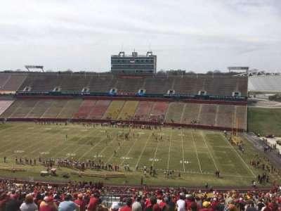 Jack Trice Stadium, section: Y, row: 28, seat: 4
