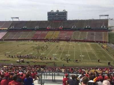 Jack Trice Stadium, section: Y, row: 17, seat: 1