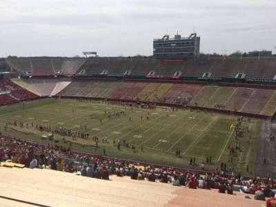 Jack Trice Stadium, section: Z, row: 28, seat: 24