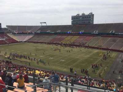 Jack Trice Stadium, section: ZZ, row: 11, seat: 1
