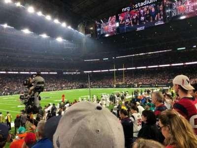 Nrg Stadium Section 129 Row F Seat 7 8