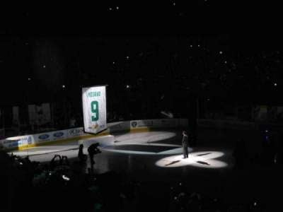 American Airlines Center, section: 106, row: V, seat: 7