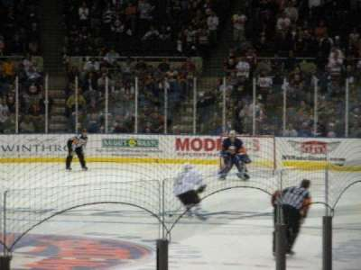 Old Nassau Veterans Memorial Coliseum, section: 107, row: J, seat: 2