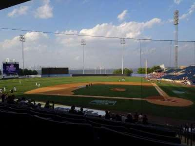 Richmond County Bank Ballpark, section: 7, row: V, seat: 1