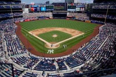 Yankee Stadium, section: 320A, row: 2, seat: 18