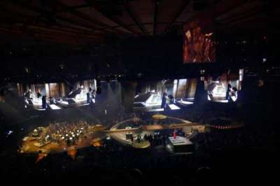 Madison Square Garden, section: 223, row: 8, seat: 13