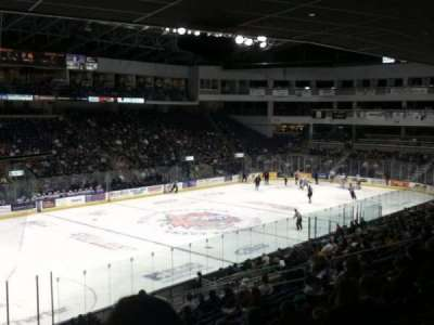 Webster Bank arena, section: 118