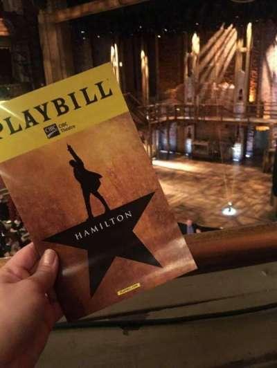 CIBC Theatre, section: Mezzanine R, row: A, seat: 10