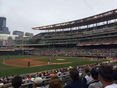 Target Field section 122