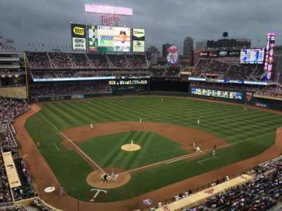 Target Field, section: 213, row: 2, seat: 11