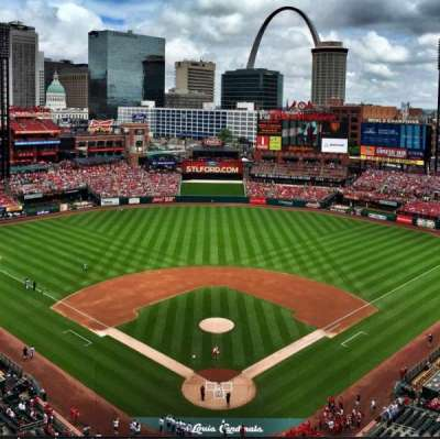 Busch Stadium, section: 450, row: 9, seat: 15
