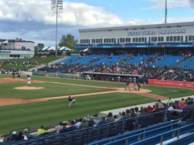 Fifth Third Ballpark, section: 225, row: 16, seat: 1