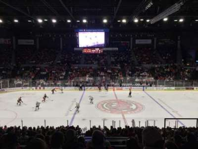 BMO Harris Bank Center, section: 204, row: HH, seat: 6