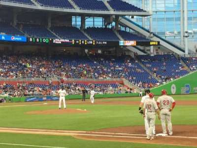 Marlins Park, section: 7, row: C, seat: 18