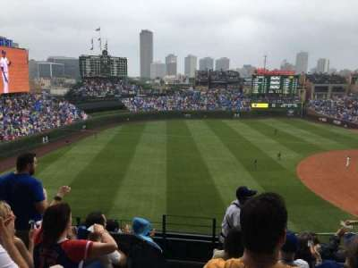 Wrigley Field section 407