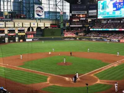 Minute Maid Park section 218