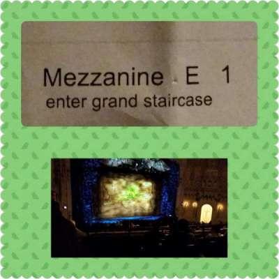 Orpheum Theatre (San Francisco), section: Mezzanine L, row: E, seat: 1