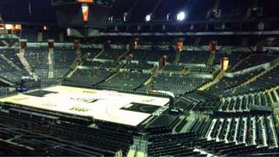 AT&T Center, section: 104, row: 28, seat: 5