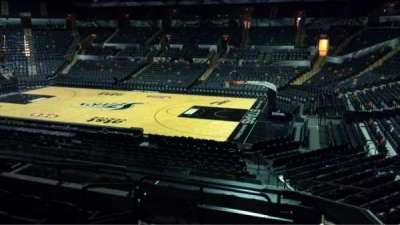 AT&T Center, section: 105, row: 28, seat: 9