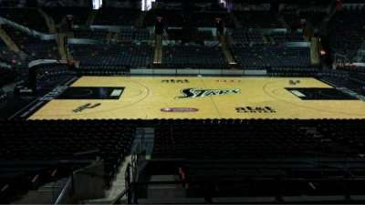 AT&T Center, section: 122, row: 22, seat: 5