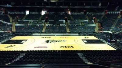 AT&T Center, section: 121, row: 22, seat: 11