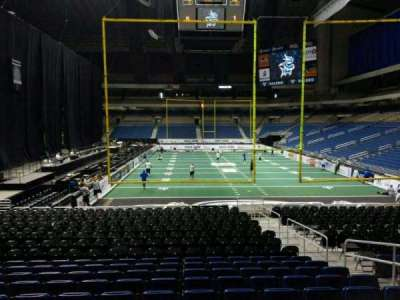 Alamodome, section: 109, row: 14, seat: 6