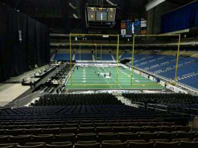 Alamodome, section: 109, row: 22, seat: 8