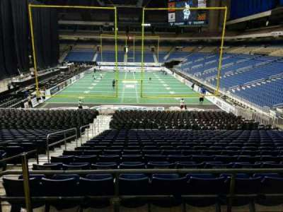Alamodome, section: 108, row: 28, seat: 4