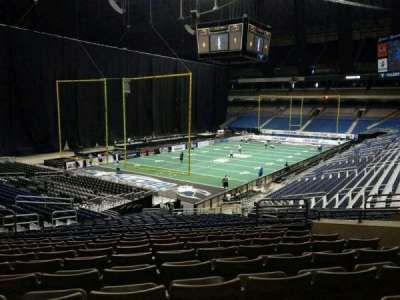 Alamodome, section: 107, row: 22, seat: 28