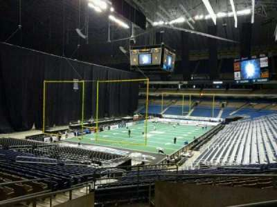 Alamodome, section: 107, row: 24, seat: 20