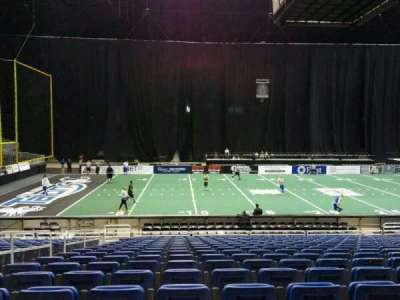 Alamodome, section: 102, row: 20, seat: 8