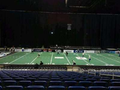 Alamodome, section: 102, row: 20, seat: 6