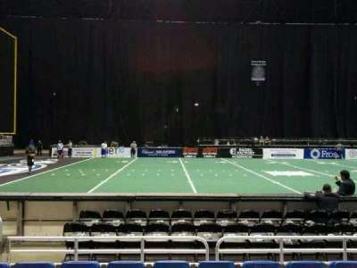 Alamodome, section: 102, row: 4, seat: 8