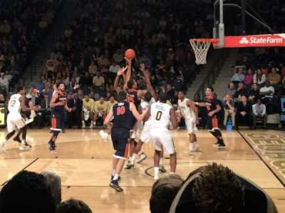 McCamish Pavilion, section: 108, row: 6, seat: 4