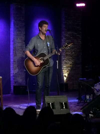 City Winery, section: VIP, seat: 312