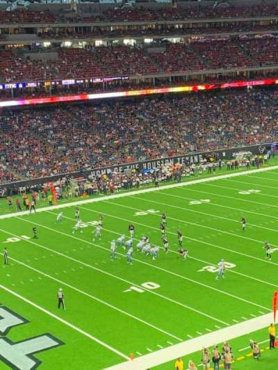 NRG Stadium, section: 343, row: R, seat: 10
