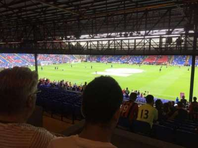 Selhurst Park, section: T, row: 41, seat: 56