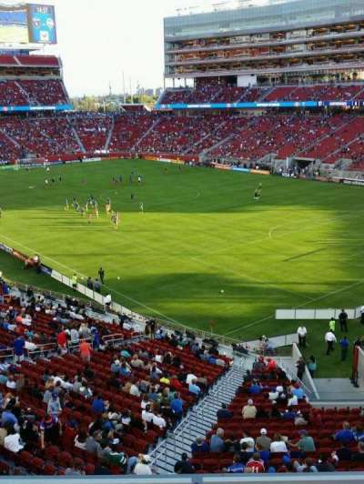 Levi's Stadium section 208