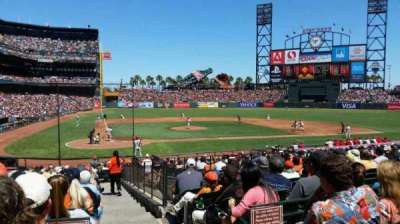AT&T Park, section: 112, row: 26, seat: 1