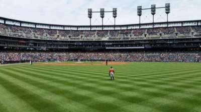 Comerica Park, section: 104, row: A, seat: 16