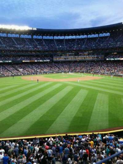 Safeco Field, section: 187, row: 1, seat: 6