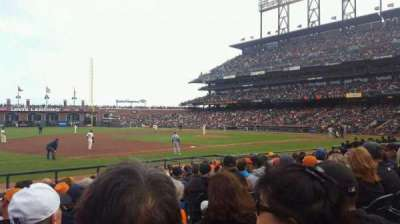 AT&T Park, section: 126, row: 11, seat: 4