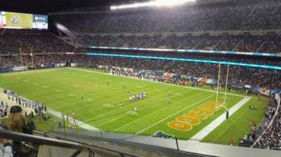 Soldier Field, section: 302, row: 5, seat: 3