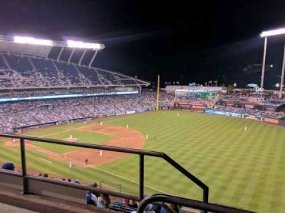 Kauffman Stadium, section: 437, row: m, seat: 1